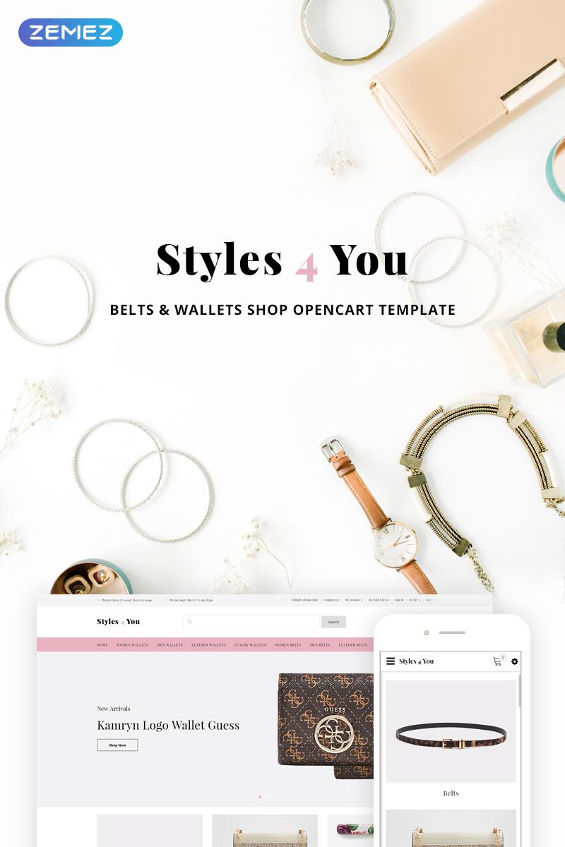 Styles4You - Belts & Wallets Shop OpenCart Template