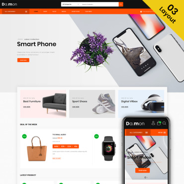WooCommerce Template #74149