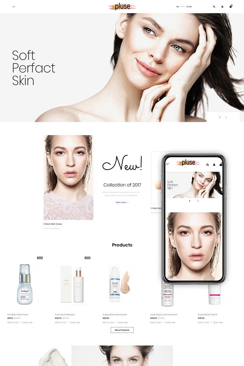 Pluse - Cosmetic Store PrestaShop Theme