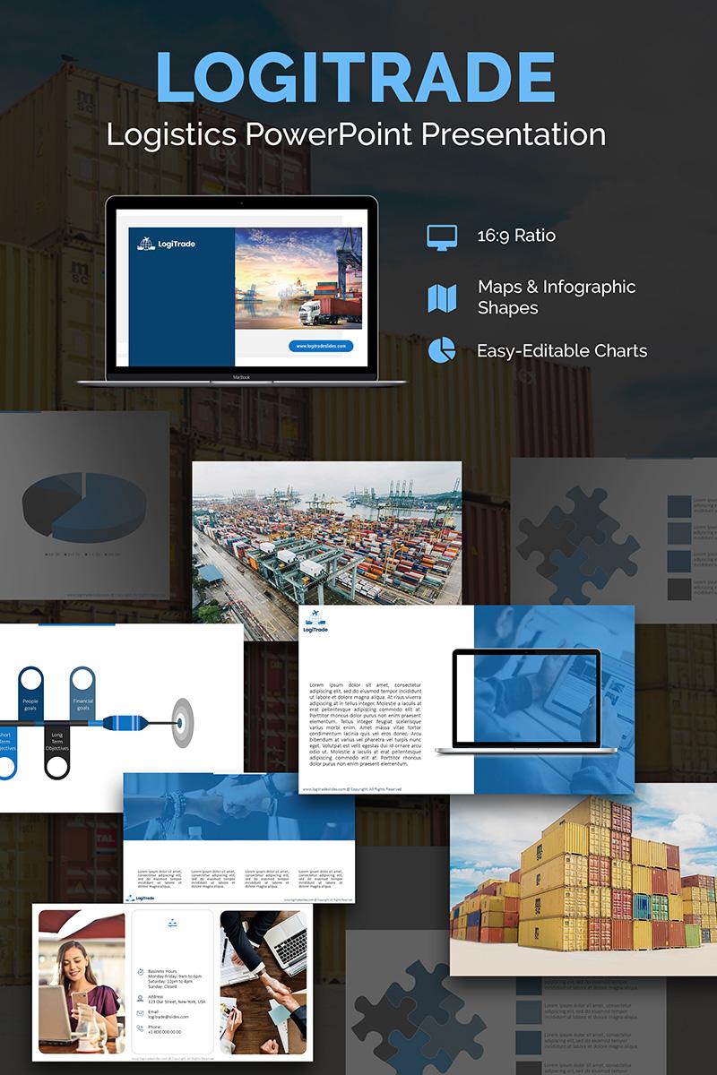Logistics PPT Slides PowerPoint Template