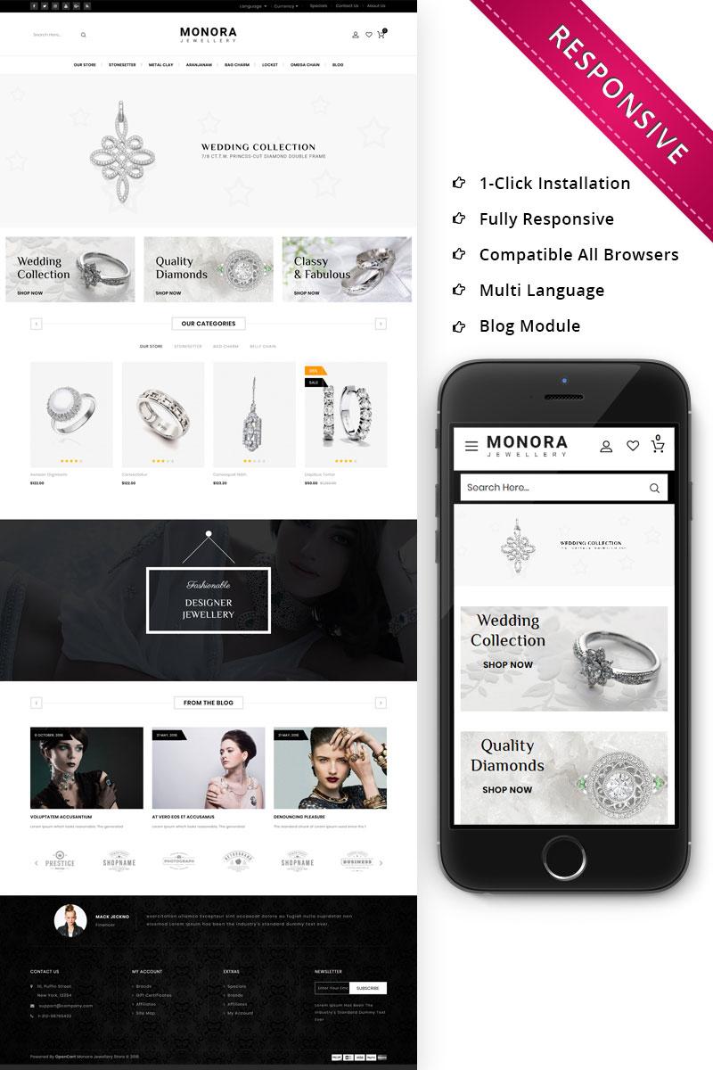 Monora Jewellery Responsive OpenCart Template