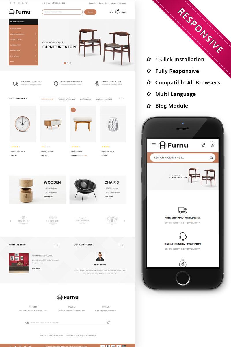 Furnu Furniture Responsive OpenCart Template
