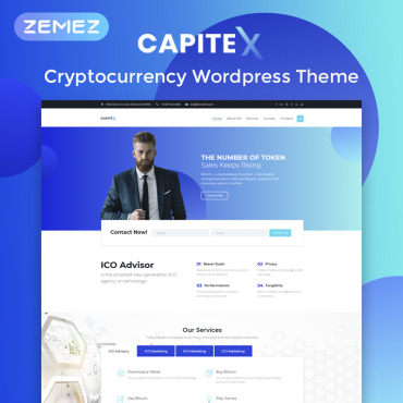WordPress Template #74327
