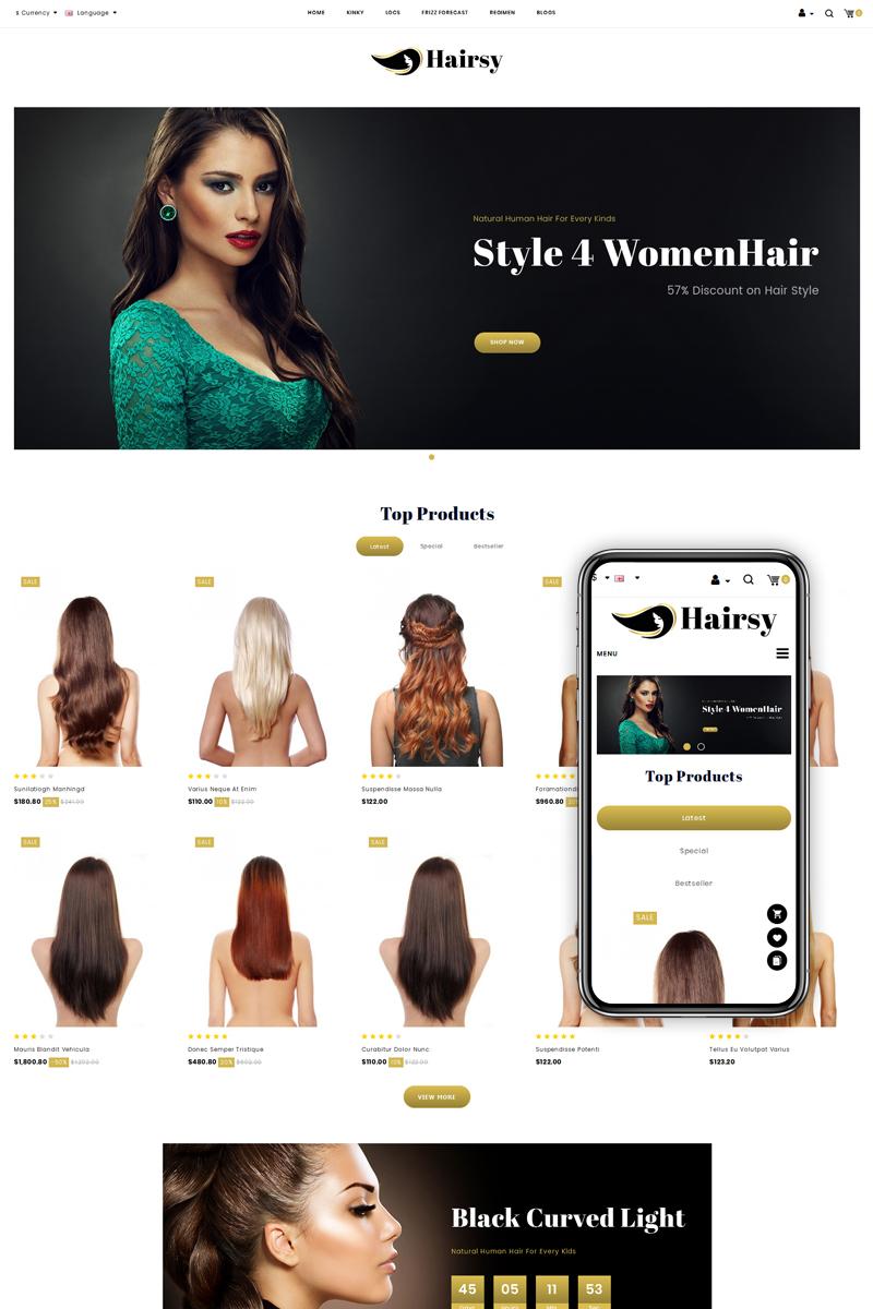 Hairsy - Multipurpose Store OpenCart Template