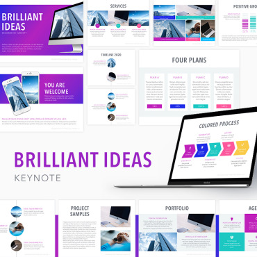 Template  Keynote Templates #74406