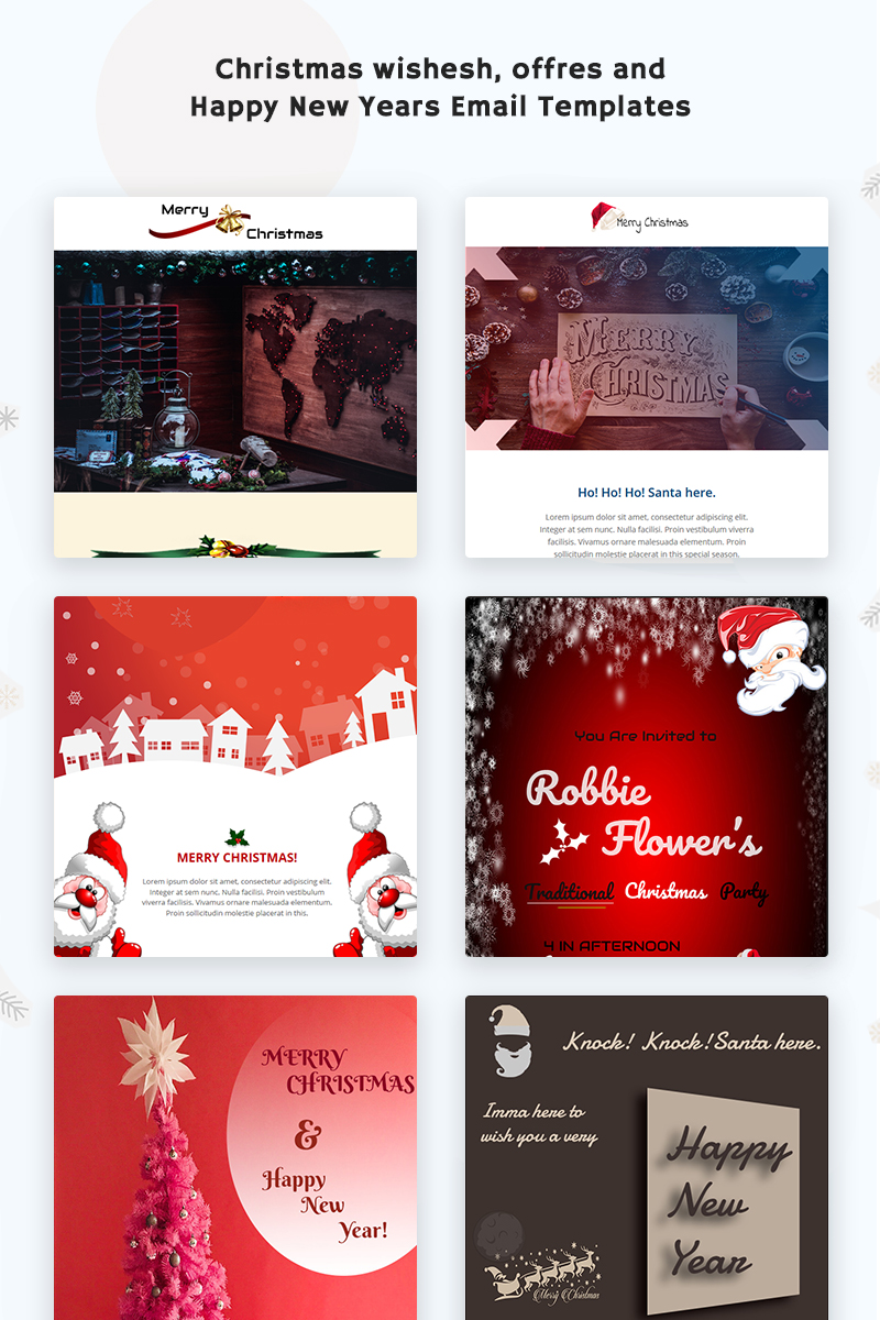 Merry Xmas Responsive Newsletter Template