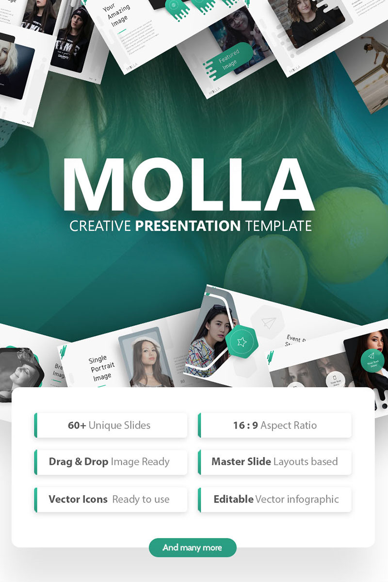 Molla Creative PowerPoint Template