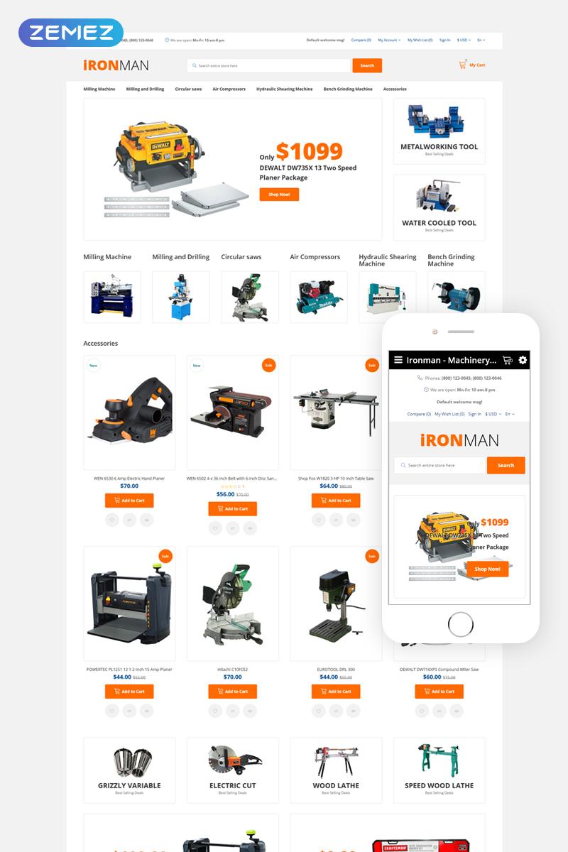 IronMan OpenCart Template