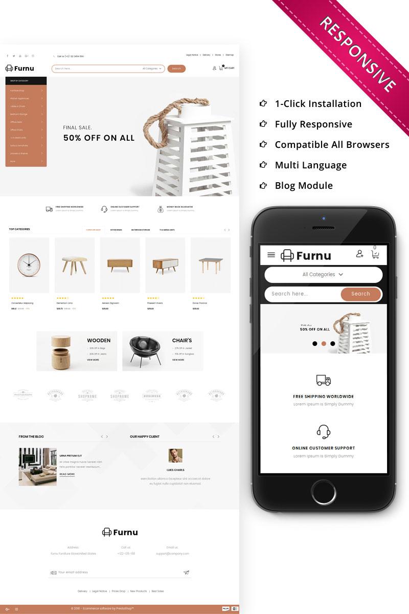 Furnu - The Furniture Store Responsive PrestaShop Theme
