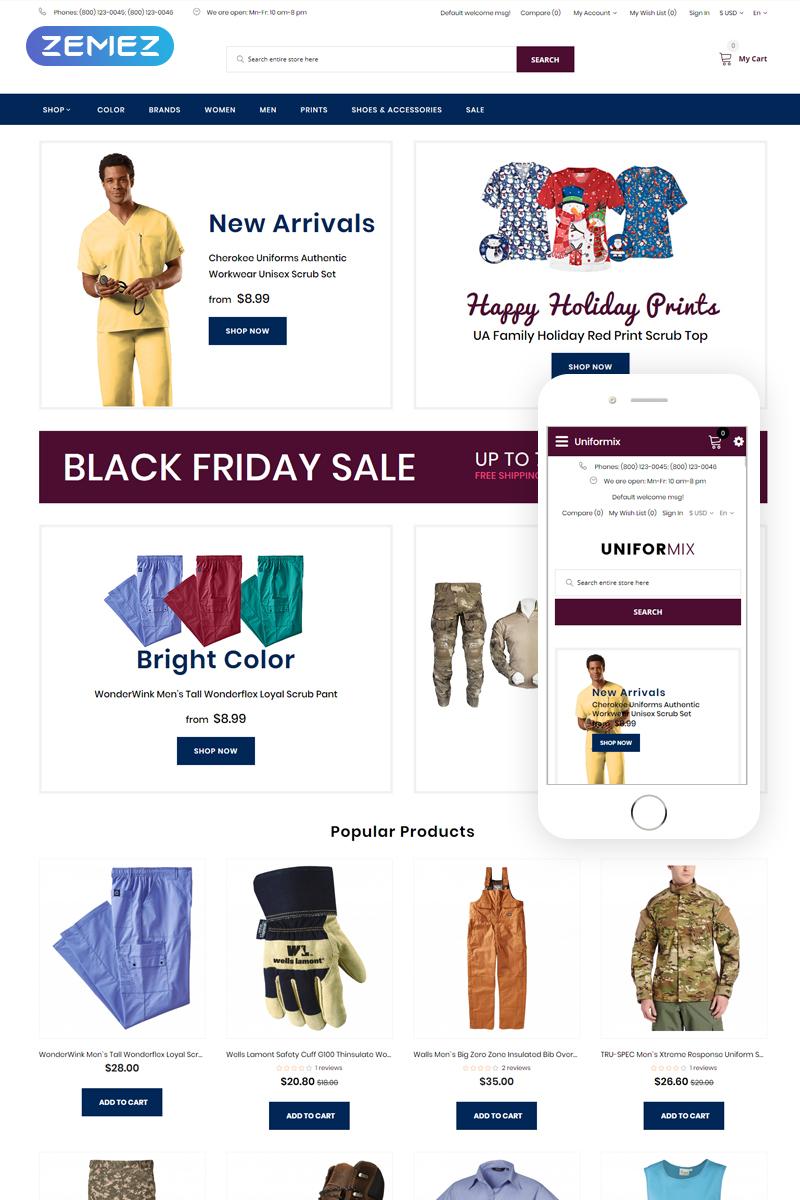 Uniformix - Uniform OpenCart Template