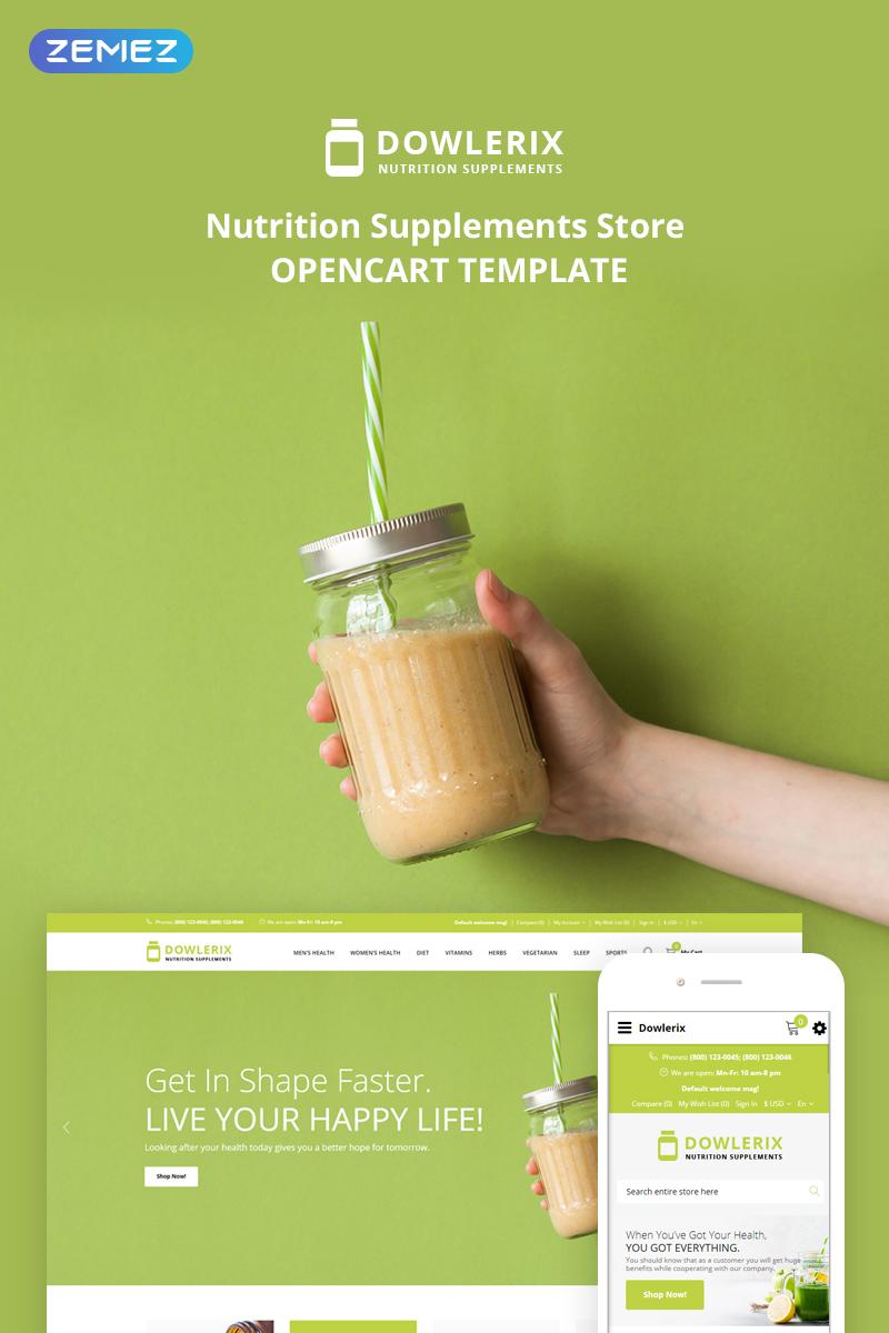 Dowlerix OpenCart Template