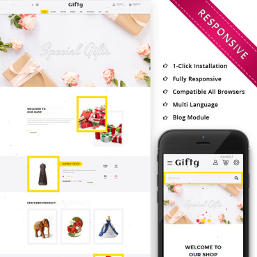 Template OpenCart #74680