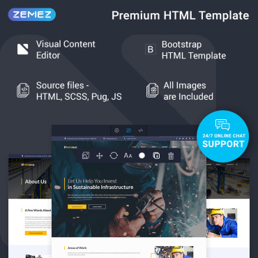Website Template № 74690