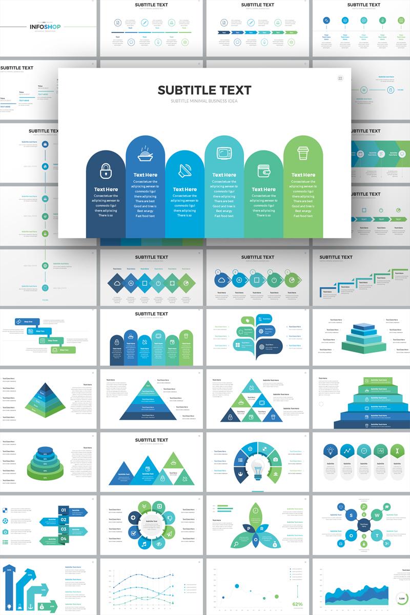 InfoShop-Infographic Presentation PowerPoint Template