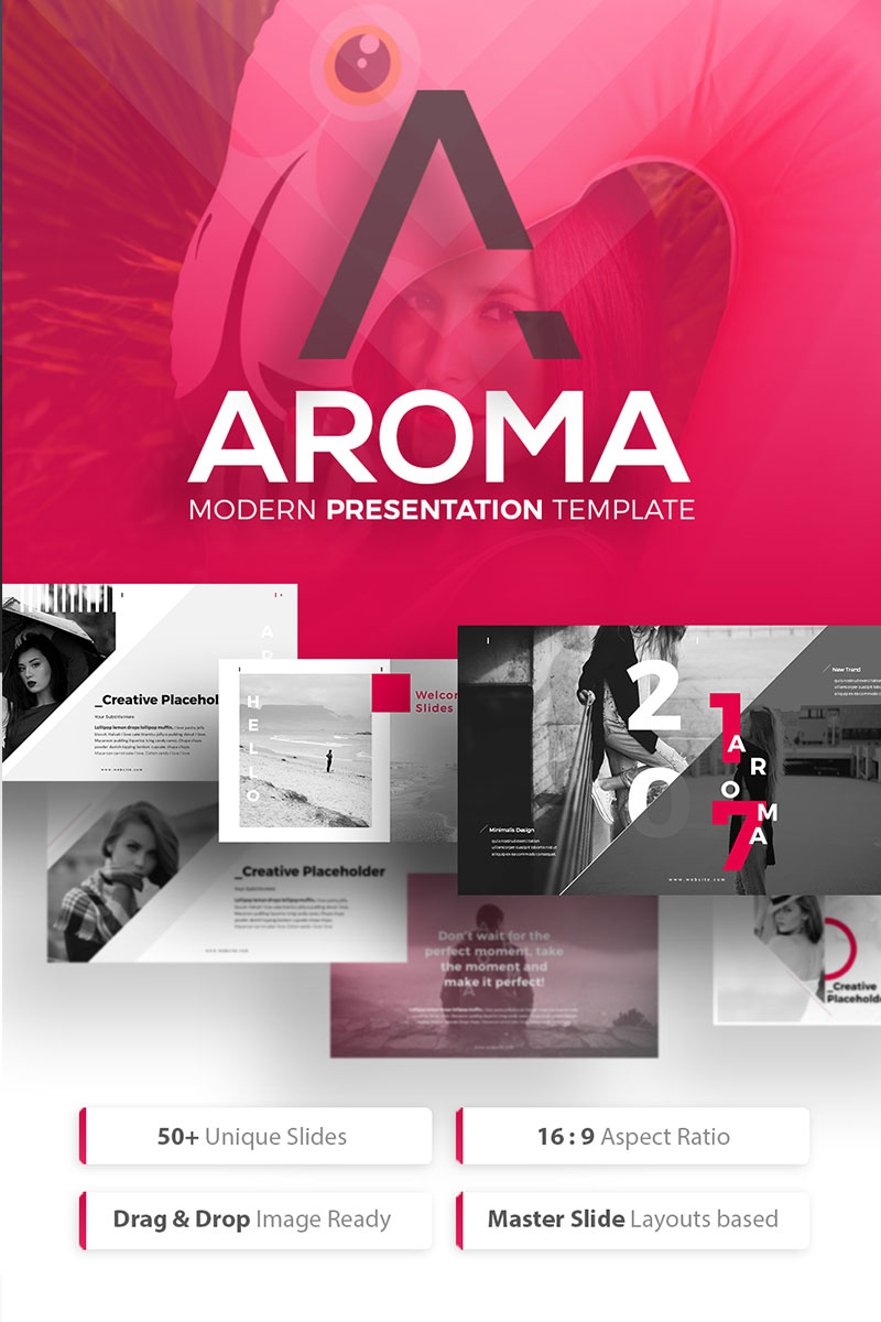 AROMA - Business Modern PowerPoint Template