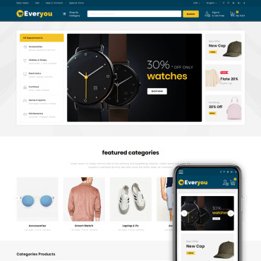 Website Template № 74852