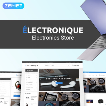 Template Electronice PrestaShop #75172