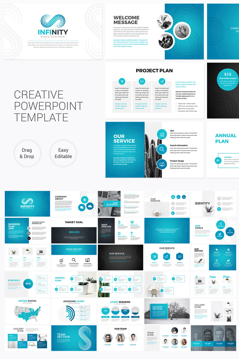 Infinity - Modern PowerPoint Template