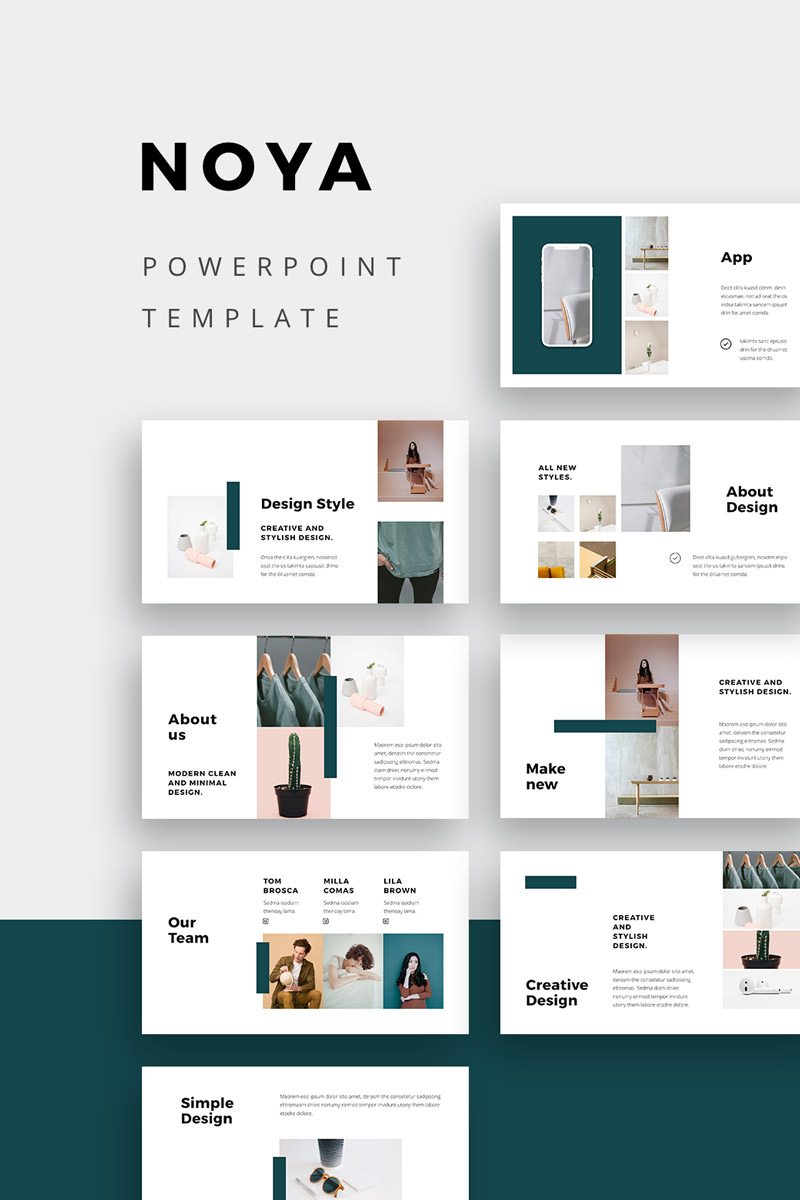 NOYA - PowerPoint Template