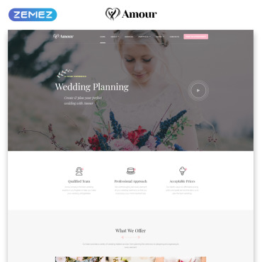 Website Template № 75448