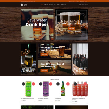 Website Template № 75470