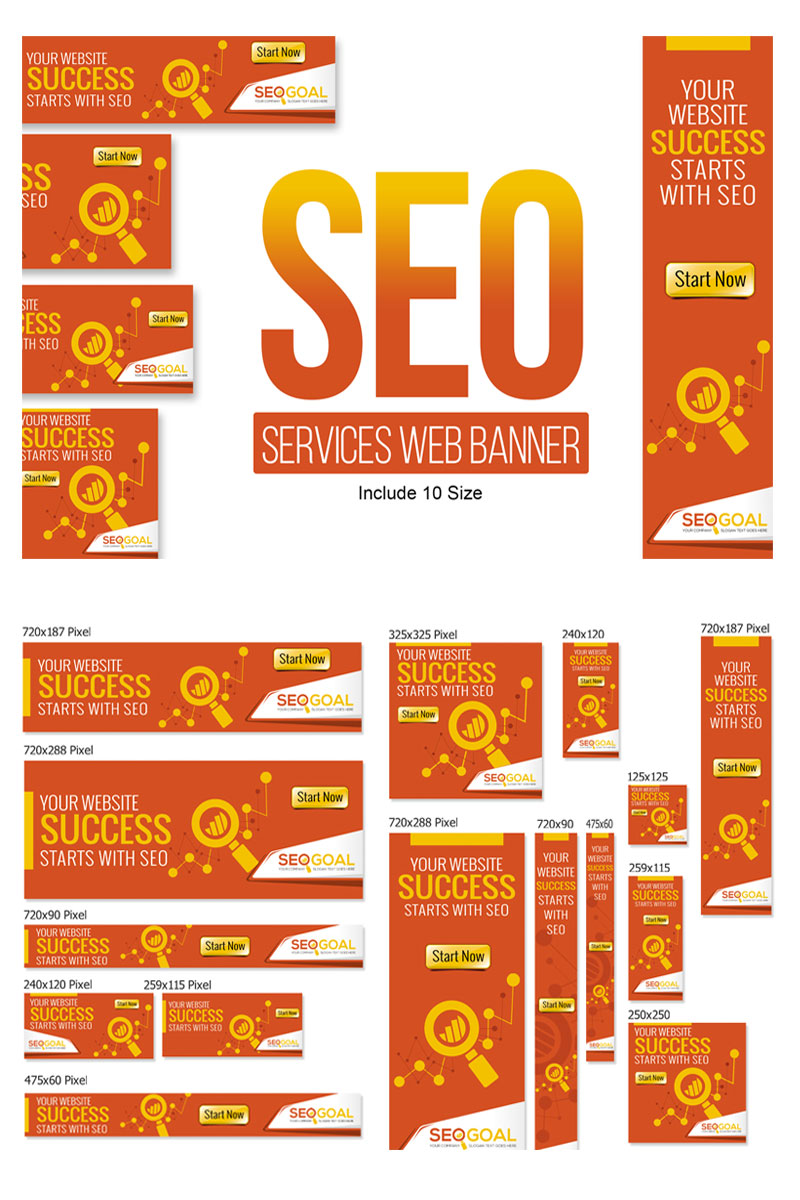 SEO Services Web Banners & Ads Animated Banner Intended For Animated Banner Template