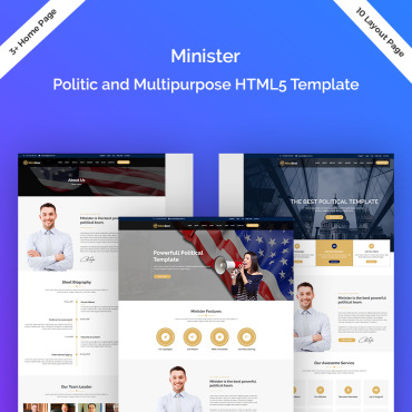 Website Template № 75494