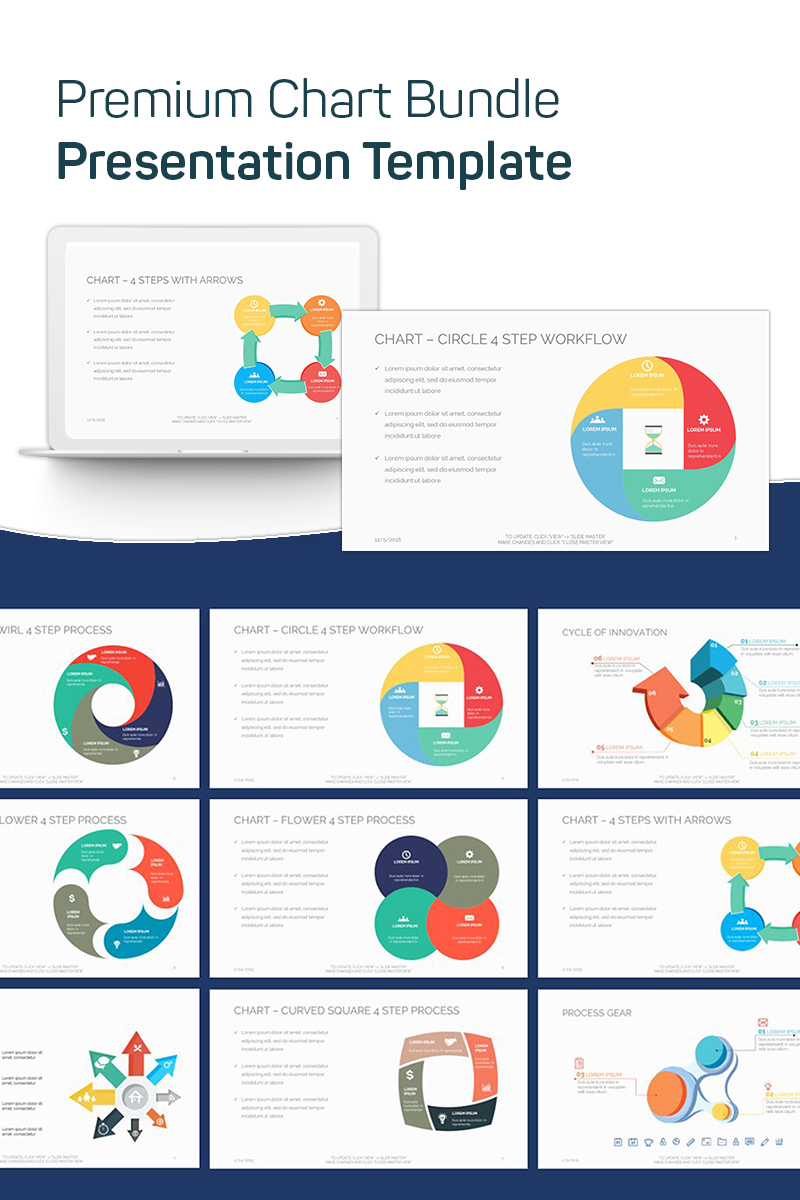 Premium Chart Bundle PowerPoint Template