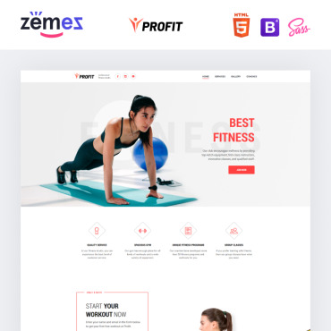 Website Template № 75656