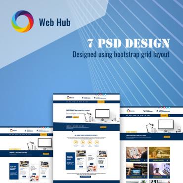 Template Web Design PSD #75751