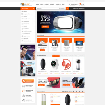 Template Electronice WooCommerce #75790