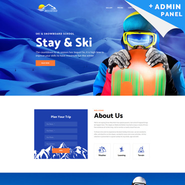 Website Template № 75869
