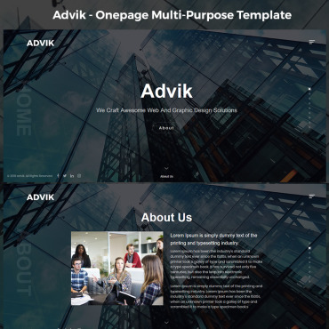 Template Page d'atterrissage #75953