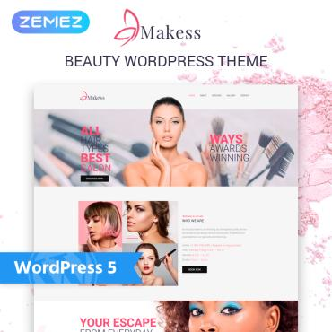 Template Frumusețe WordPress #75970