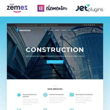 Template Arhitectură WordPress #76018