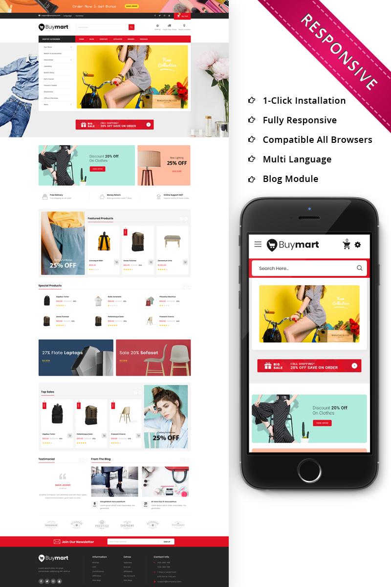 Buymart - The Mega Shop Responsive OpenCart Template
