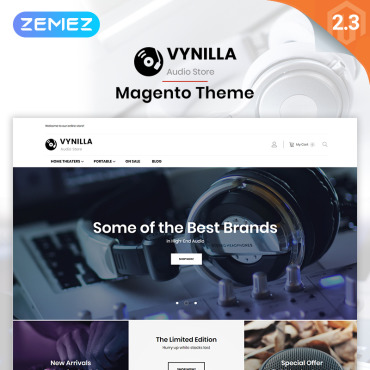 Template Electronice Magento #76372