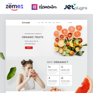 Website Template № 76455