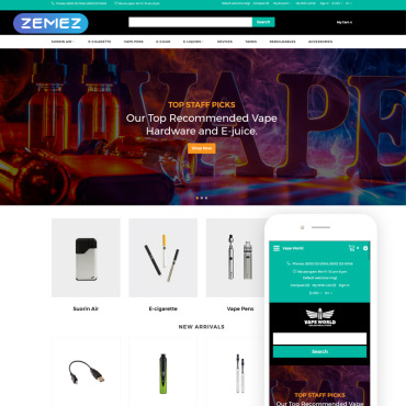 Website Template № 76473