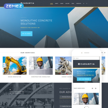Website Template № 76567