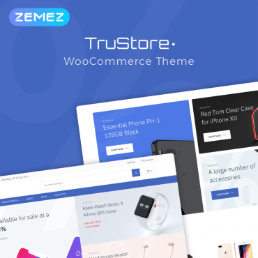 Template Electronice WooCommerce #76609