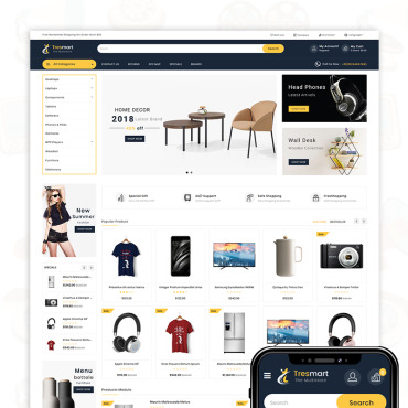 Template Electronice OpenCart #76657