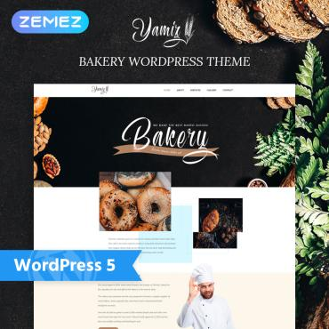 Template Cafenele și restaurante WordPress #76771