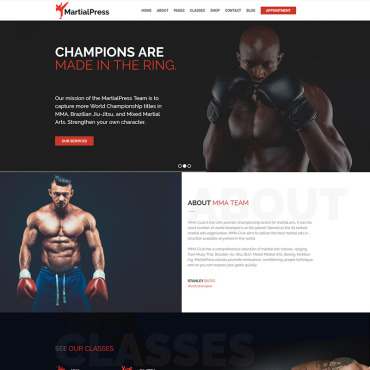 Website Template № 76830