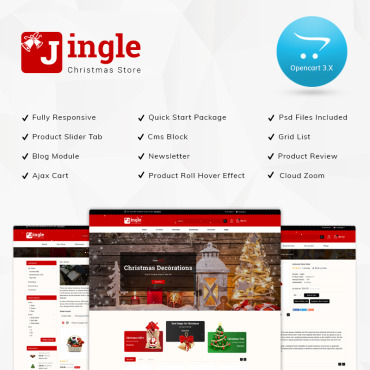 Template OpenCart #76844
