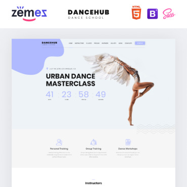 Website Template № 76896