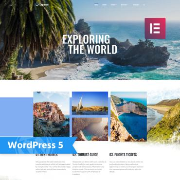 Template Turism WordPress #76956