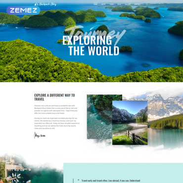 Website Template № 77055