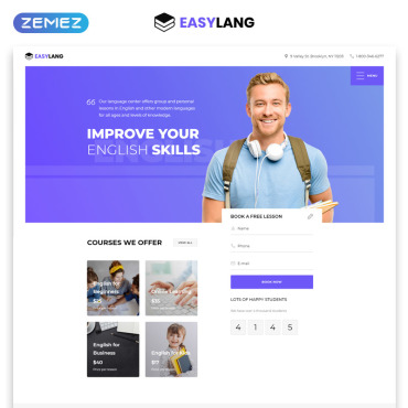 Website Template № 77059