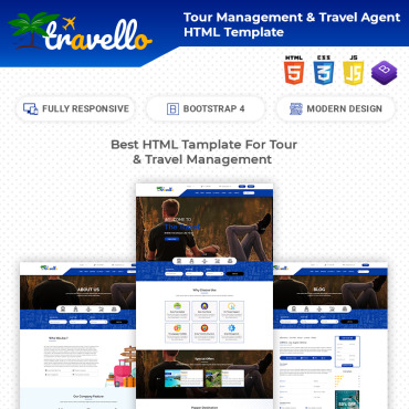 HTML/CSS Template #77063